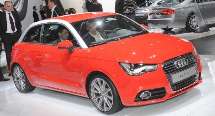 Audi A1 auf der AMI zu sehen