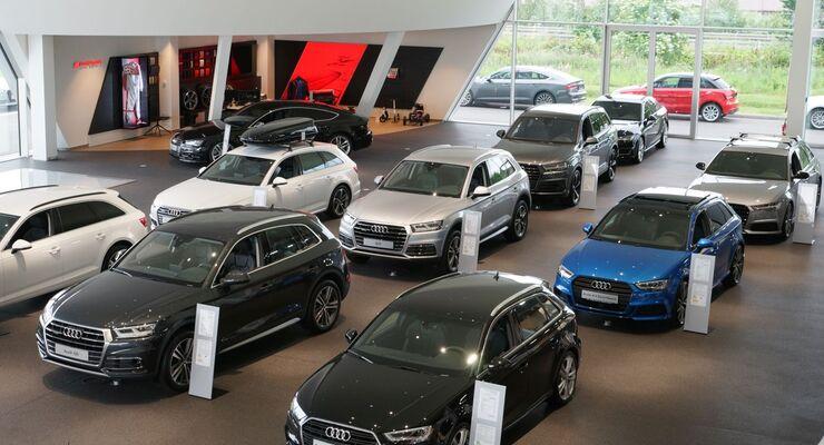 Audi Zentrum Baden-Baden gehört ab 2018 auch zum F+SC-Netzwerk