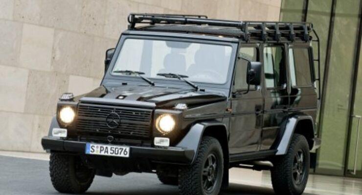Auszeichung für die Mercedes G-Klasse