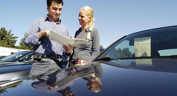 Autokauf, Autoverkauf, Gebrauchtwagen, Autohaus,