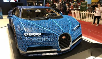 Bugatti Chiron Lego Paris 2018