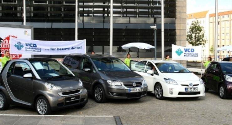 Car-Sharing-Vermieter kaufen sparsame Autos