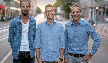 Das Azowo-Gründerteam: Andreas Kopf, Peter Jegutzki, Patric Schneider (v.l.).