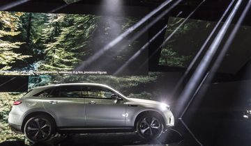 Der neue Mercedes-Benz EQC - der erste Mercedes-Benz der Produkt- und Technologiemarke EQ. Weltpremiere Stockholm 2018.//