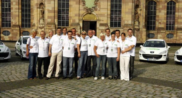 Die Teams von Peugeot