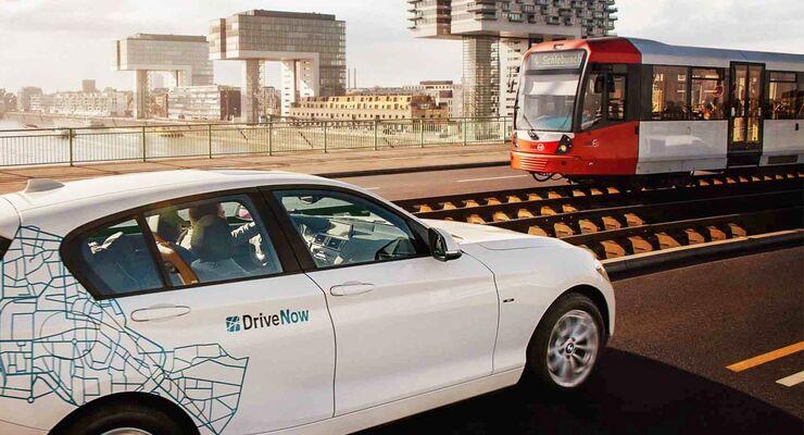 Drivenow bahn carsharing mobilität sixt bcg