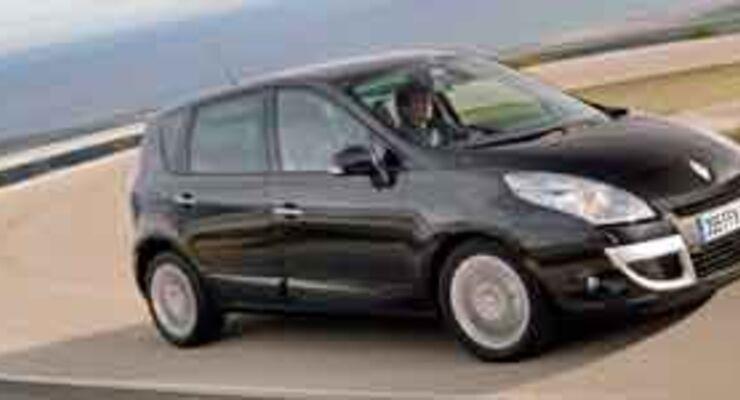 Ein echter Kompakt-Van: Renault Scénic