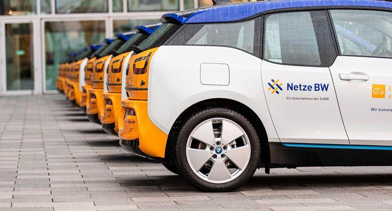 EnBW, Flotte, Fuhrpark, E-Autos, Elektroautos, BMW i3