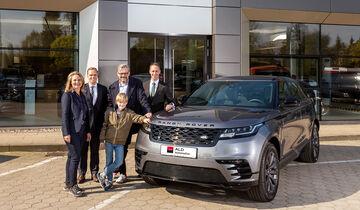 Fahrzeugpbergabe Range Rover für ALD