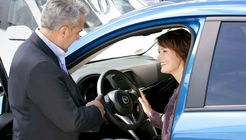 Fahrzeugübergabe Verkauf