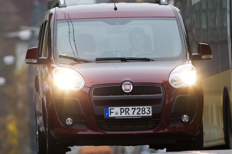 Fiat Doblò 1.4 T-Jet 16V Natural Power , Front
