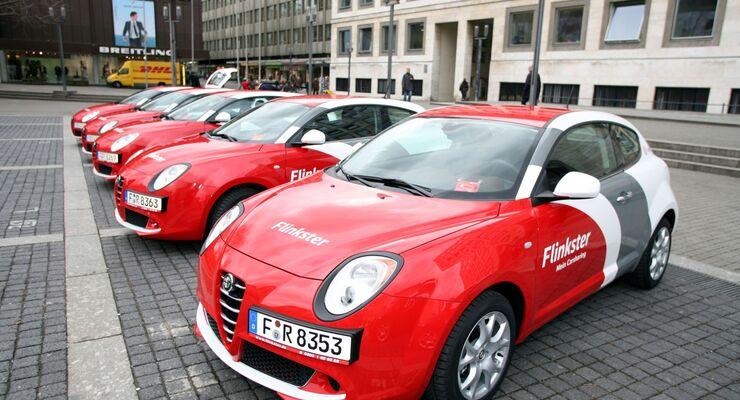 Flinkster in Stuttgart