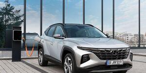 Hyundai Tucson PIH 2021, Ladesäule