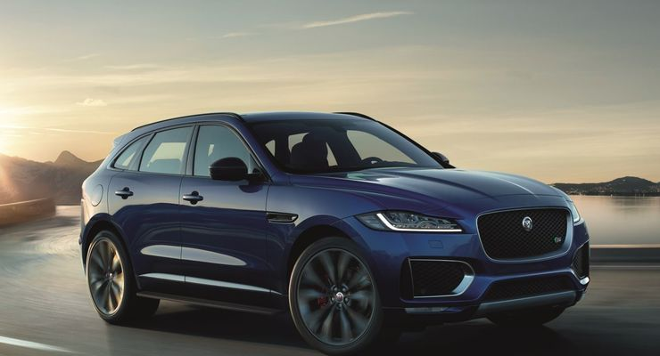 Jaguar Land Rover Inmotion Carpe f pace
