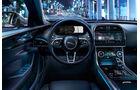 Jaguar XE, Modelljahr 2020, lenkrad, cockpit