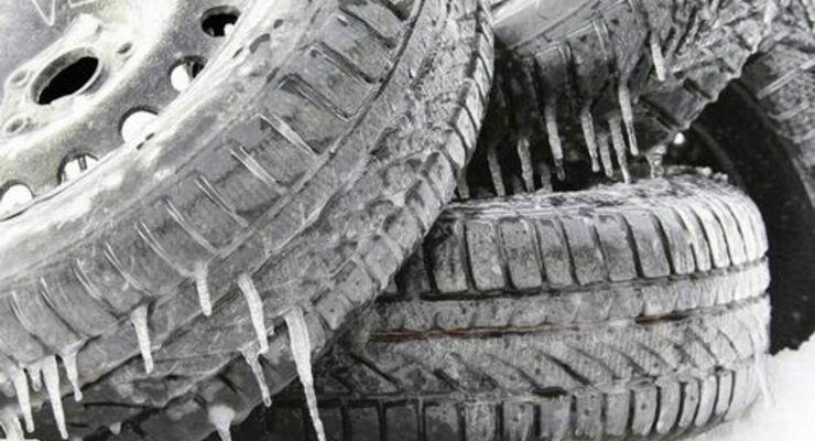 Kommt die Winterreifenpflicht erst 2011?