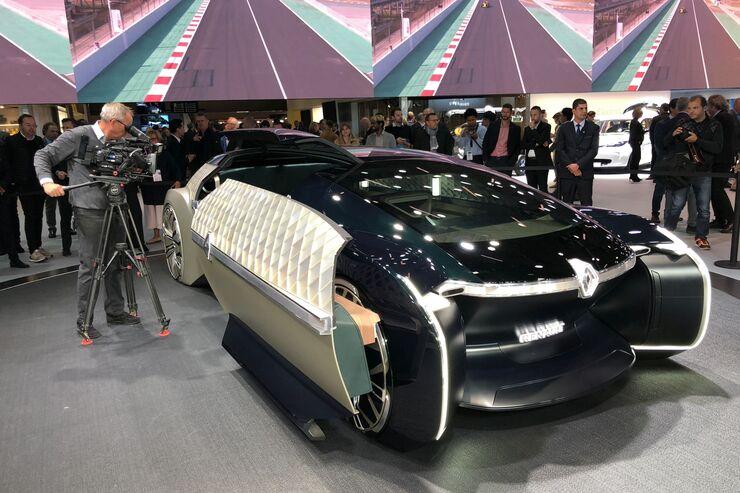 Konzeptautos auf dem Autosalon