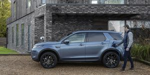 Land Rover Discovery Sport PHEV 2020, Wallbox, laden, Plug-in Hybrid