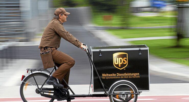 Lastenrad UPS