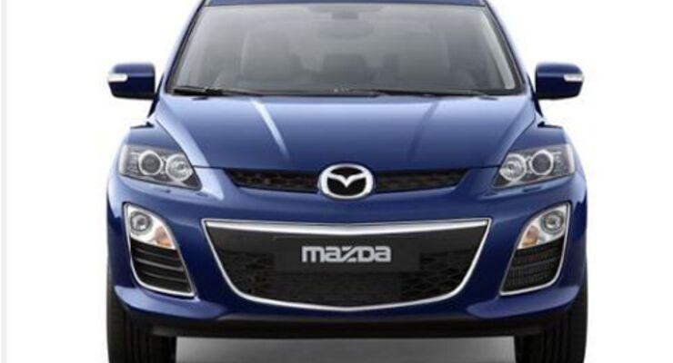 Mazda mit Harnstoff im Tank