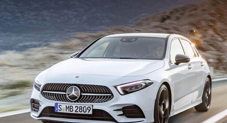 Mercedes-Benz A-Klasse Genf 2018