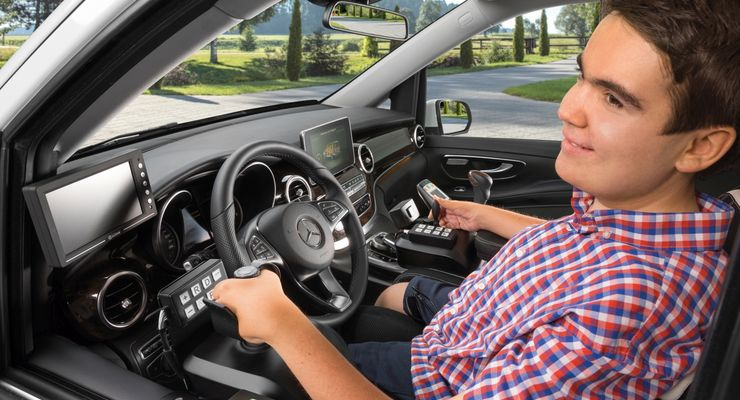 Mercedes, Benz, V-Klasse, Citan, Sprinter Paravan, Umbau, Behinderung