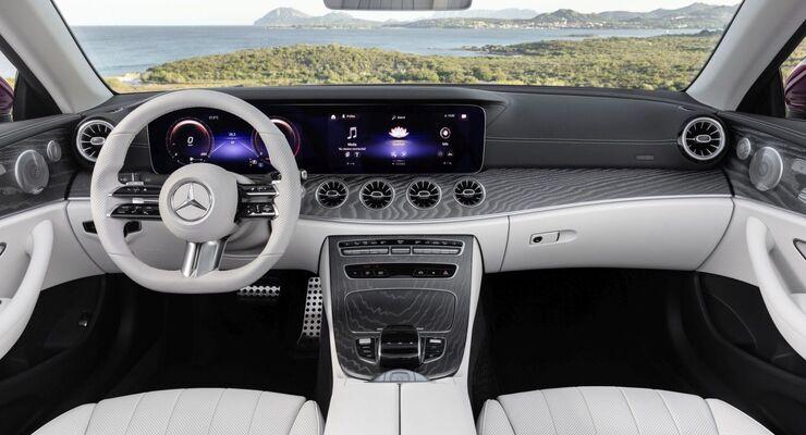 Mercedes E-Klasse Cabriolet 2020