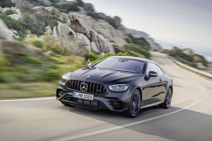 Mercedes E-Klasse 2020: Facelift für Coupé und Cabrio ...
