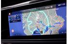 Mercedes EQC, 2019, Elektroauto, E-Auto, navigation, bildschirm,