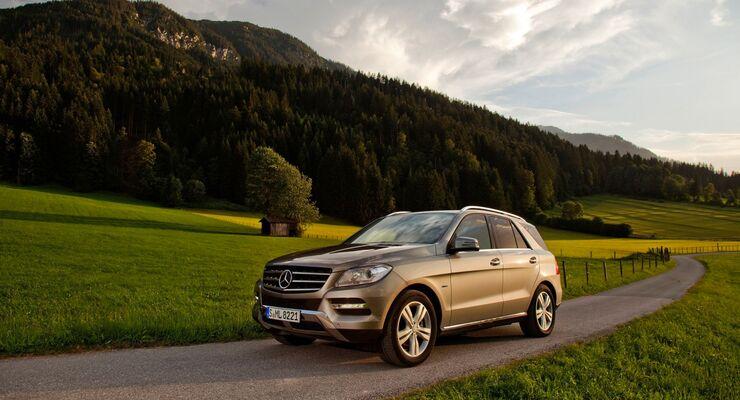 Mercedes M Klasse V8 Benziner Mit Kollisionswarner Firmenauto