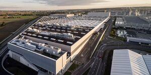 Mercedes Produktionshalle Sindelfingen 2020