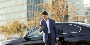 Merceds, Business, Reise, Geschäft, Handy, Smartphone, Flottenmanagement