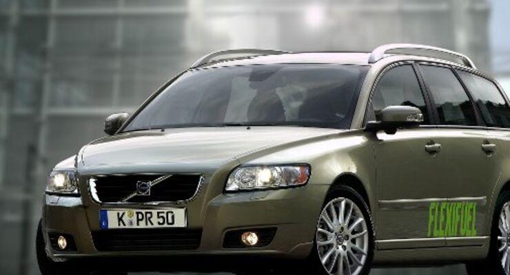 Multi Fuel-Fahrzeuge von Volvo