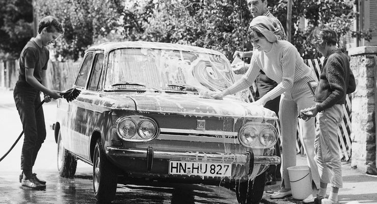 NSU Prinz, Car Wash