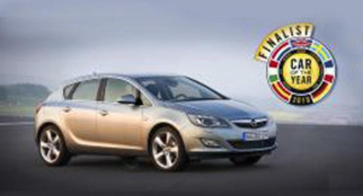 Neuer Opel Astra in der Endrunde