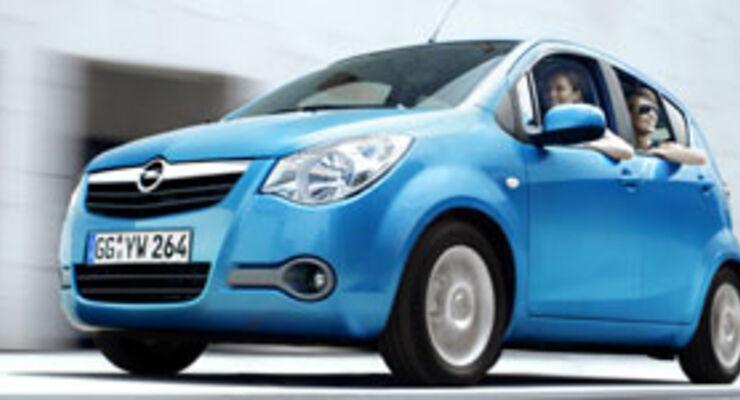 Opel Agila: Fit für Flotte und Familie