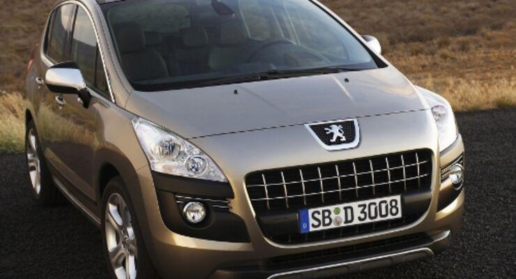 Peugeot 3008 mit mehr Ausstattung