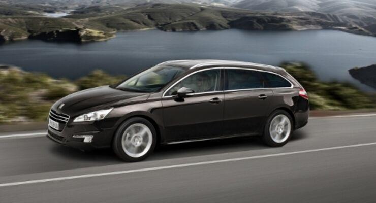 Peugeot 508 als Business-Line