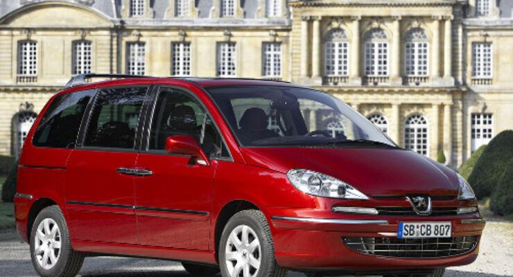 Peugeot 807 ist mit WIP Bluetooth zu haben