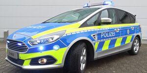 Polizei Nordrhein-Westfalen fährt Ford S-MAX