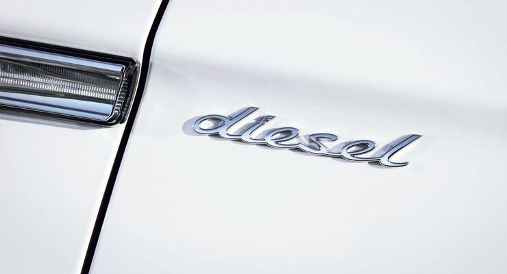 Porsche Dieselschriftzug