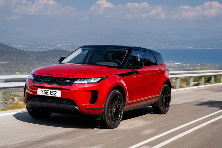 fahrbericht range rover evoque 2019 ein wenig ko. Black Bedroom Furniture Sets. Home Design Ideas