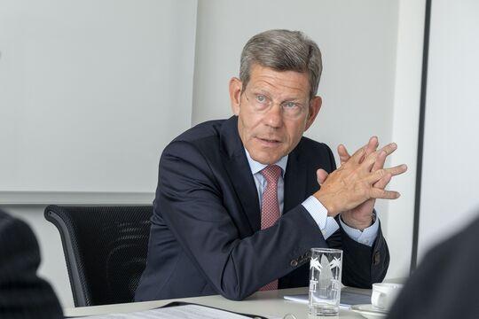 Redaktionsgespräch VDA Präsident Bernhard Mattes