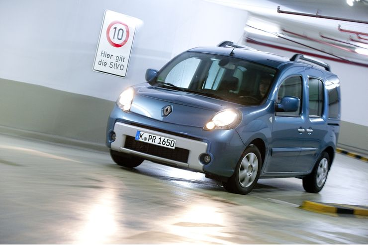 Renault Kangoo Energy dCi 90 Front seitlich