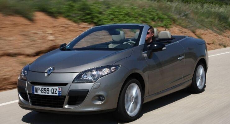 Renault Megane Cabrio mit Doppelkupplungsgetriebe