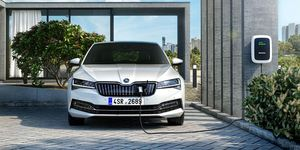 Skoda, Superb, HEV, 2020, E-Auto, Elektroauto, Wallbox