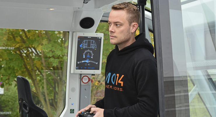 Stefan Häfner (37) arbeitet seit rund drei Jahren im Innovation-Lab der R+V Allgemeine Versicherung als Projektleiter autonomes Fahren.