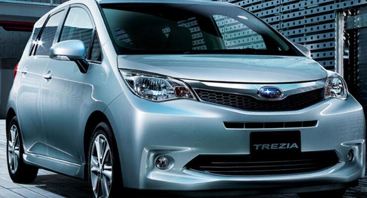 Subaru bringt neuen Trezia