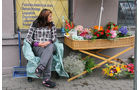 Testrunde um die Ostsee, Blumenhändlerin