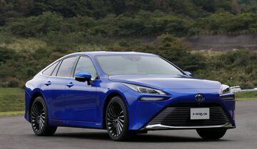 Toyota Mirai, Brennstoffzelle,